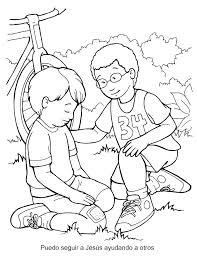 Good Samaritan Coloring Page The Good Coloring Page Framesforeverinfo