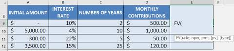 Monthly Investment Formula In Excel Free Microsoft Excel