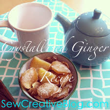 crystallized cand ginger recipe sore throat remedy