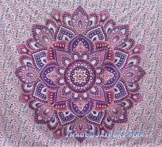 mandala tapestry louts flower ombre mandala tapestry wall