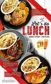 new lunch specials at tgi fridays jan 24 2018 8 45 am