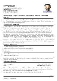 Exchange Administrator Resumes Exchange Administrator Resumes Resume Ms Sample Successmaker Co