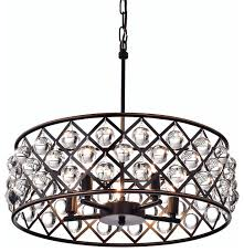 azha 5 light crystal drum chandelier ceiling fixture oil rubbed for stylish home oil rubbed bronze chandelier with crystals designs