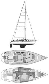 17 best ideas about hunter sailboats 2017 hunter hunter 33 5 drawing on sailboatdata com