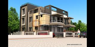 Commercial Building Design by CAD Resolution