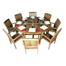8 person outdoor dining table 8 person outdoor dining set 9 piece 8 person round outdoor