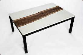 concrete and wood furniture. Boulder Artisan Concrete Tables And Wood Furniture
