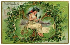 Image result for st. patrick's day old fashioned greeting cards
