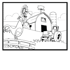 Free Coloring Pages Of Farm Animals Coloring Page Farm Animals Best