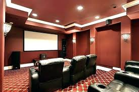 basement movie room. Delighful Room Basement Movie Theater Small Room Ideas  Home To Basement Movie Room
