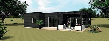 Construction Maison Modulaire Bois Construire Maison En Bois Pas Cher