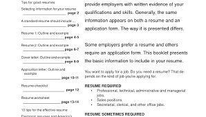 Online Resume Templates Free Resume Template
