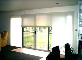 roller shades for sliding glass doors window back door blinds front motorized solar roller