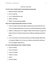 Individual Case Study