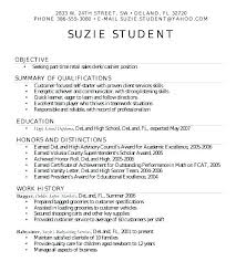 Resume Sample High School Graduate Resume Template For High School ...