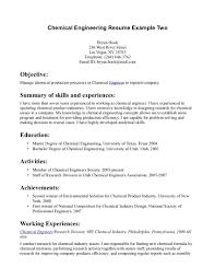 Engineering Engineering Internship Resume