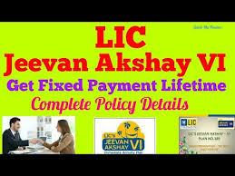 Jeevan Akshay Chart Complete Guide On Lic Jeevan Akshay Vi Plan Should I Invest