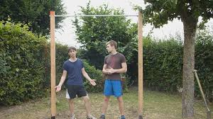 Diy Outdoor Pull Up Bar Pull Up Bar Garden 34 Best Diy Pull Up Backyard Pull Up Bar Plans