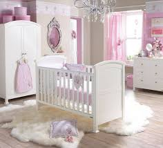 a cozy nursery room for your baby girl the fluffy rug will let your princess