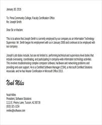 Job Experience Letter Format Hardware Networking Experience