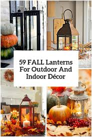 fall lanterns for outdoor and indoor decor