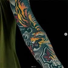 Japonske Tetovani Tygr Black House Tattoo