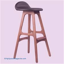 erik buch od mobler inspired teak bar stool mid century style