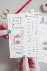 diy insram save the date invitations with free printables