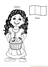 Small Picture free printable coloring page Kids From Around The World 012