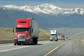 Image result for semi driving