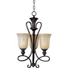 infinity 3 light oil rubbed bronze mini chandelier