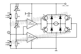 diy solar tracker system circuit solar tracker circuit schematic