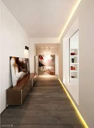 cool hallway lighting. Recessed Lighting For Modern Hallway Idea Cool