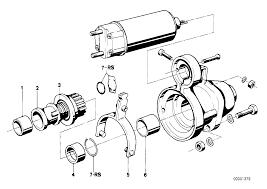 Starter parts bmw e21 sedan 47173 12 0291 12 0291