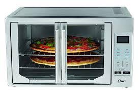 Double Swinging Kitchen Doors Amazoncom Oster Tssttvfddg Digital French Door Oven Stainless