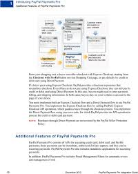 Paypal Payments Pro Integration Guide Pdf Free Download