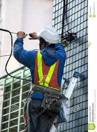 Cable Installation Job Engineer Highrise Facade Cable Engineering Security