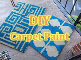 carpet paint. diy how to paint the carpet s