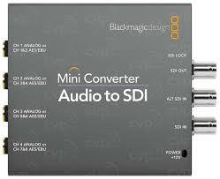 Blackmagic Design Audio To Sdi Open Box Audio To Sdi Converter