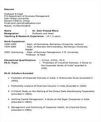 Brief Resume Format Brief Resume Format 7 Best Computer Skills