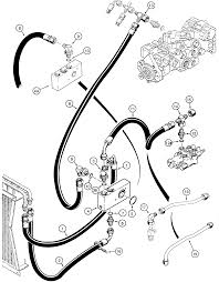 case 1835c hydraulics loader and hydrostatic drive hydraulic circuit return lines to check valve manifold and oil c 7 pin bobcat wiring,bobcat wiring diagrams image database on 7 blade trailer pigtail wiring schematic
