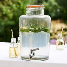 glass drinks dispenser