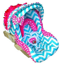 strollers seat covers custom car seat cover chevron with rose bow sweet