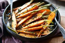 cooked baby carrots. Delighful Carrots Thymeroasted Baby Carrots With Cooked Baby Carrots