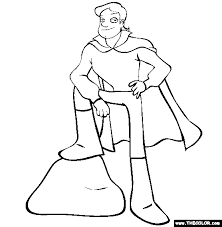 Small Picture Prince and Princess Online Coloring Pages Page 1