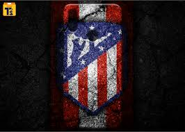 Atletico madrid logo png the earliest atletico madrid logo was introduced during the club's first season in 1903. Atletico Madrid Logo Art Mobile Back Cover Tech2sports