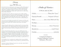 Memorial Program Custom Free Memorial Templates Funeral Service Template Editable Program