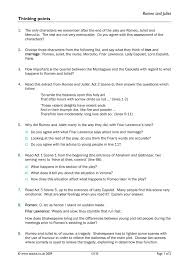 Romeo and Juliet     exams written in the style of AQA      Literature  Paper   exam  by HMBenglishresources       Teaching Resources   Tes