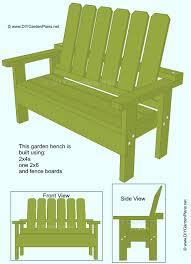 garden bench plans. Plain Bench Inside Garden Bench Plans U