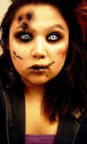 40 scary makeup ideas for women flawssy easy zombie makeup ideas